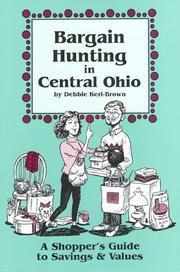 Cover of: Bargain hunting in Central Ohio