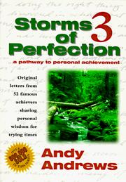 Cover of: Storms of Perfection 3  | Andy Andrews