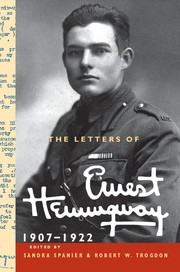 Cover of: The letters of Ernest Hemingway | Ernest Hemingway