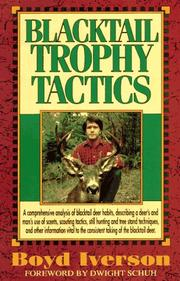Cover of: Blacktail trophy tactics