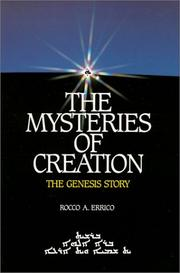 Cover of: The Mysteries of Creation: The Genesis Story