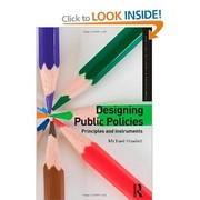 Cover of: Designing public policies