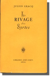 Cover of: Le Rivage des Syrtes