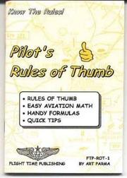 Cover of: Pilot's rules of thumb