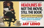 Cover of: Headlines III