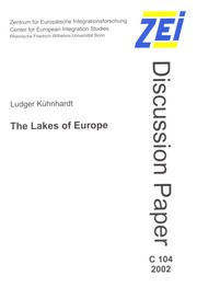 Cover of: The lakes of Europe