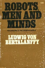 Cover of: Robots, men, and minds