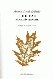 Cover of: Thoreau |
