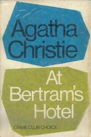 Cover of: At Bertram's Hotel
