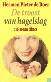 Cover of: De troost van hagelslag: 116 sonnettines