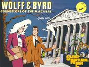 Cover of: Wolff & Byrd, counselors of the macabre