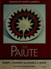 Cover of: The Paiute | Franklin, Robert J.