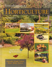 Cover of: Introduction to Horticulture
