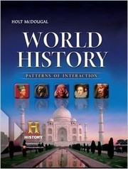 Cover of: World History