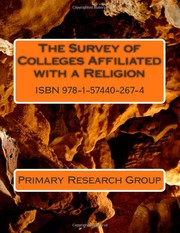 Cover of: The Survey of Colleges Affiliated With a Religion