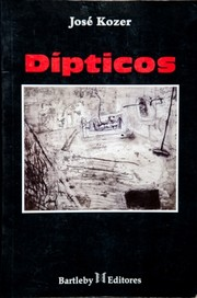 Cover of: Dípticos