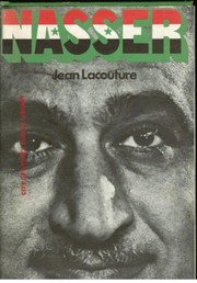 Cover of: Nasser: a biography