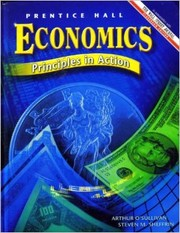 Cover of: Economics | O'Sullivan, Steven M. Sheffrin