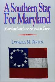 Cover of: A southern star for Maryland