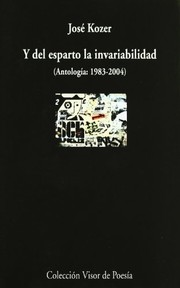 Cover of: Y del esparto la invariabilidad