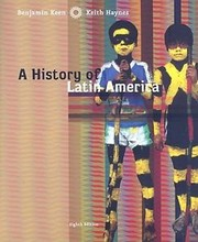 Cover of: A history of Latin America