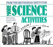 Cover of: More science activities