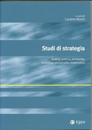 Cover of: Studi di Strategia