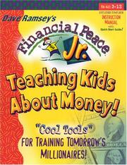 Cover of: Financial Peace Jr.: Teaching Kids About Money!