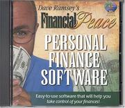 Cover of: Financial Peace Personal Finance Software