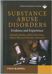 Cover of: Substance abuse disorders