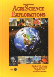 Cover of: Agriscience Explorations | Ray E. Chelewski