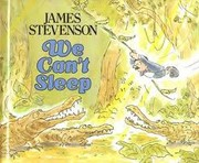 Cover of: We can't sleep | Stevenson, James