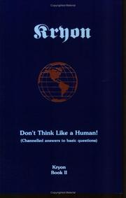 Cover of: Don't Think Like a Human