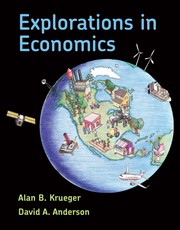 Cover of: Explorations in Economics