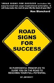 Cover of: Road Signs for Success | Jim Whitt