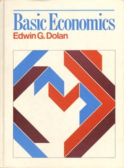 Basic economics by Edwin G. Dolan, David E. Lindsey