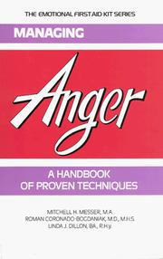 Cover of: Managing Anger | Mitchell H. Messer