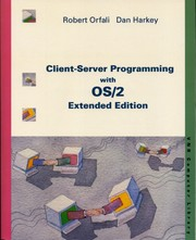 Cover of: Client-Server Programming with OS/2 Extended Edition