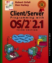 Cover of: Client/server programming with OS/2 2.1