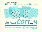 Cover of: All about cotton