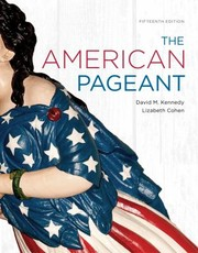 Cover of: American Pagent Complete Twelfth Edition And Guide Complete | David M. Kennedy