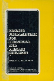 Cover of: Reading fundamentals for preschool and primary children | Robert L. Hillerich