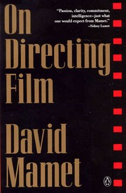 Cover of: On Directing Film