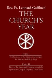 Cover of: Rev. Fr. Leonard Goffine's the church's year
