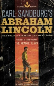 Cover of: Abraham Lincoln, Volume 1 |