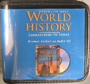 Cover of: Prentice Hall World History Connections to Today by PEARSON EDUCATION