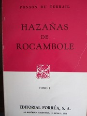 Cover of: Hazañas de Rocambole
