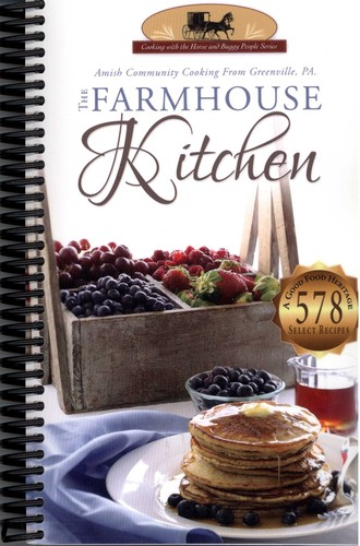 cover of the farmhouse kitchen cookbook by none