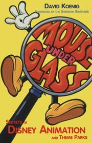 Cover of: Mouse Under Glass  | David Koenig