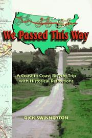 Cover of: We passed this way